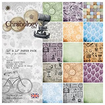 "Papermania -paperikko 12x12"": Chronology"