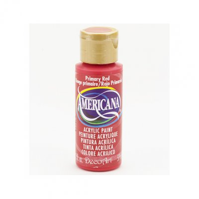 Americana acrylic paint: Primary Red