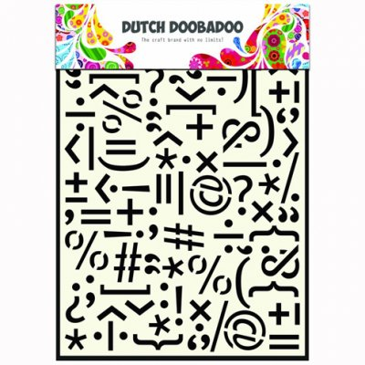 Dutch Doobadoo sabluuna: Punctuation marks, A5