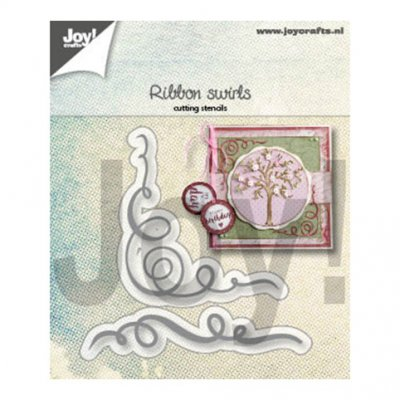 Joy Crafts -stanssit: Ribbon Swirls