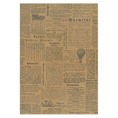 Eco cardstock A4 - newspaper