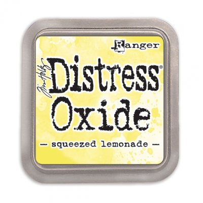 Distress Oxide -mustetyyny: Squeezed Lemonade