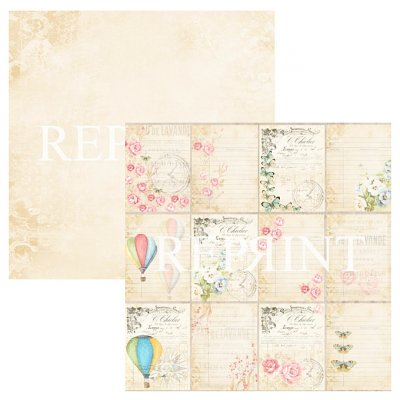 "Reprint -kuviopaperi 12x12"": Spring Blossom Tags"