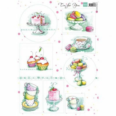 A4 MD kuva-arkki: Tea for You 2