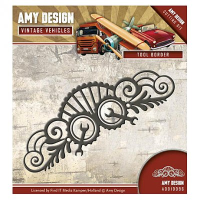 Amy Design -stanssi: Tool Border