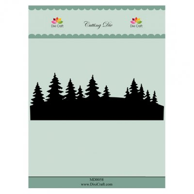 Dixi Craft -stanssi: Tree line