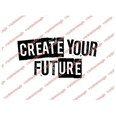 Visible Image -leimasin: Create your future