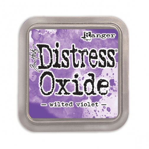 Distress Oxide -mustetyyny: Wilted Violet
