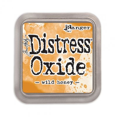 Distress Oxide -mustetyyny: Wild Honey